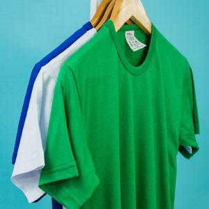 AIBJ Uniformes Camisa Manga Curta Preta Branca Azul Verde Amarela